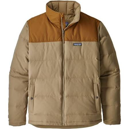 Para Hombre Down Mojave Patagonia Bivy Jacket Khaki Xl RBYZn