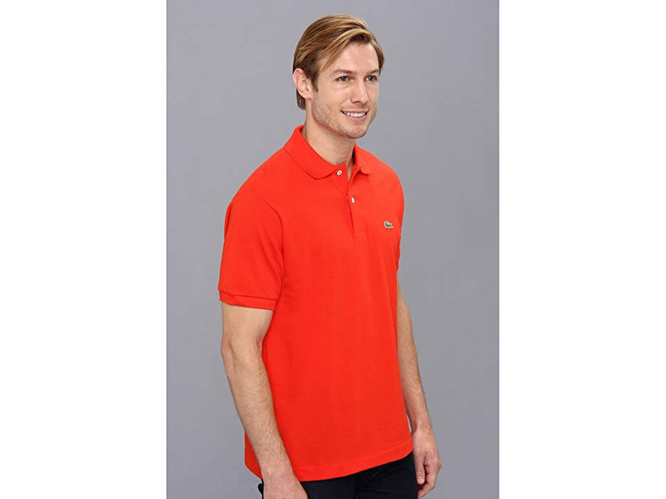 Polo Shirt Red L 12 Lacoste 12 Pique L Classic w61xv7zq