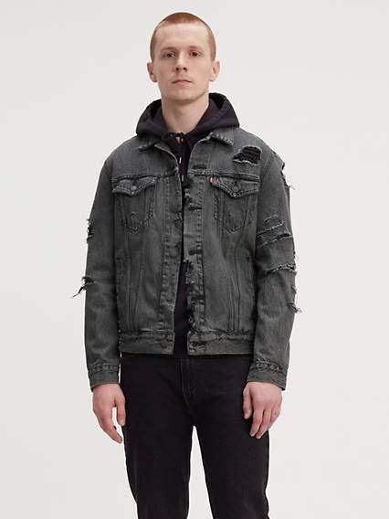 Jacket Grarrow Xl Levi's Trucker Hombres U4w47g