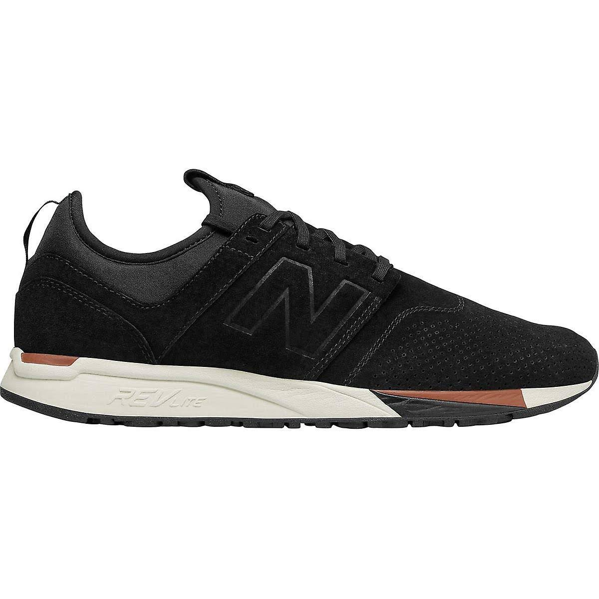 2 Balance Trainers 247 New 0 white tan Luxe Black Black Suede dt0xqxTn14