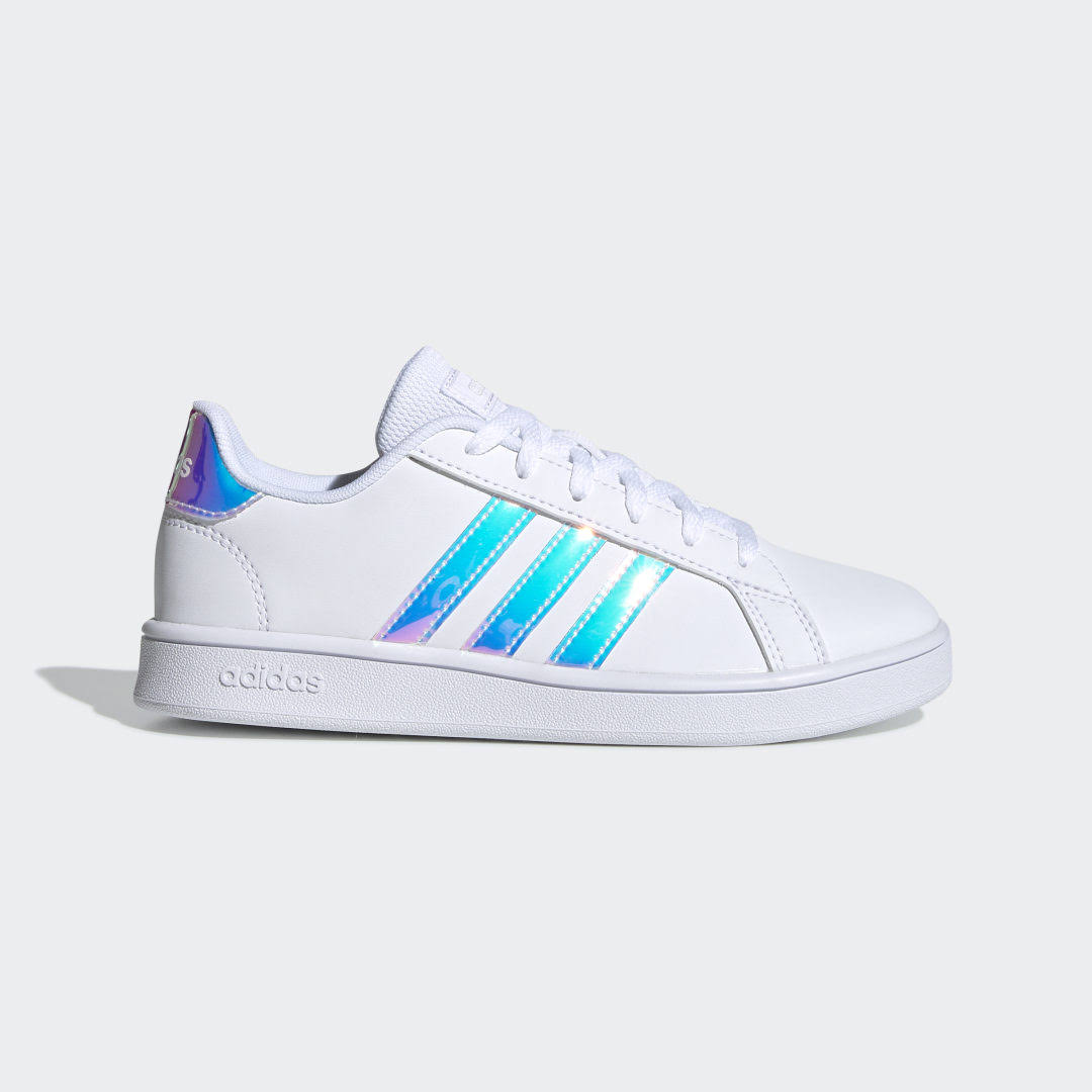 Adidas Grand Court Shoes - Kids - White