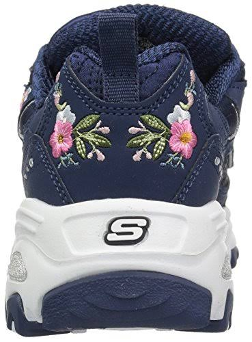 Skechers bright Blossoms Women's Navy D'lites 35 MqGSVLUzp