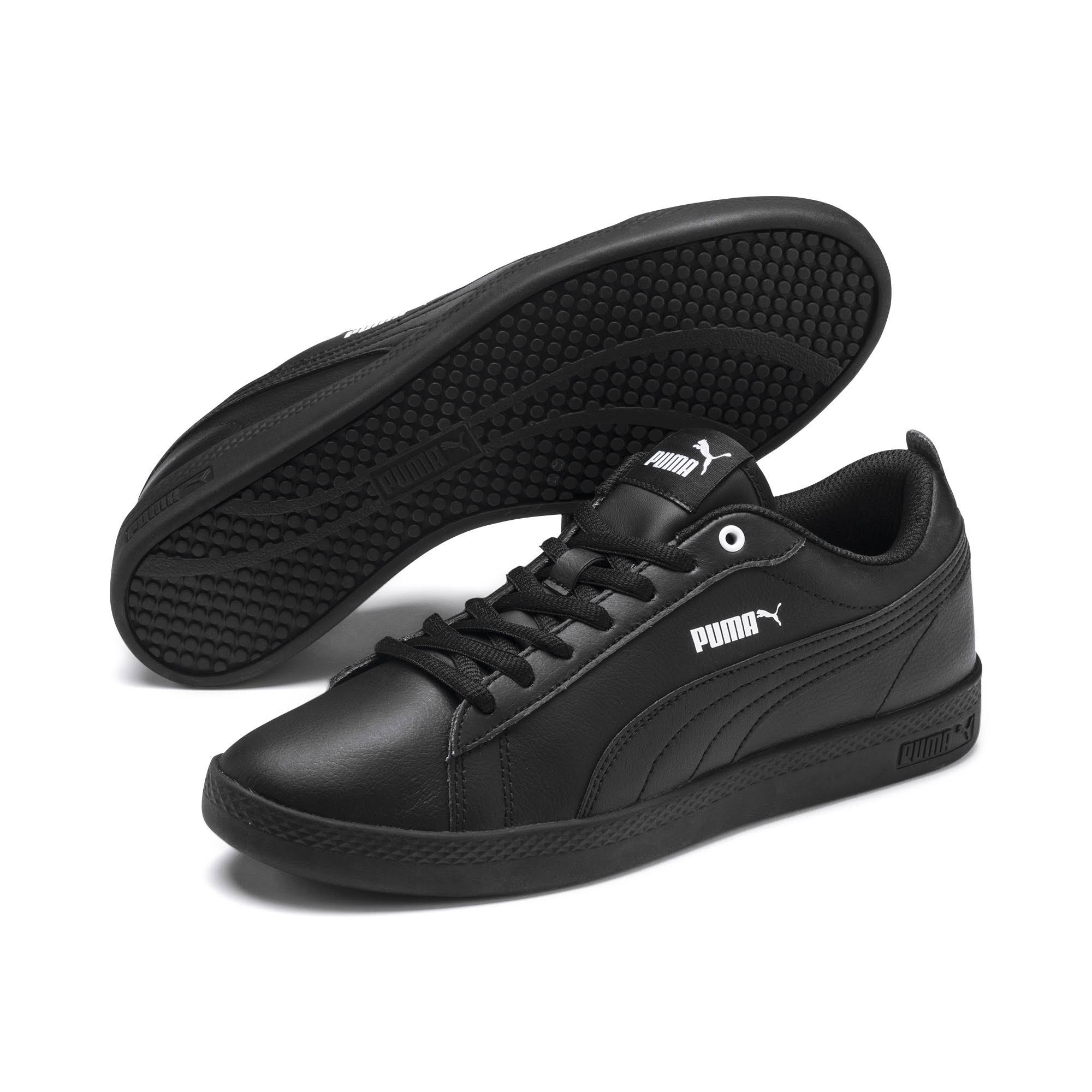 5 B Zapatillas Smash Negro V2 5 Puma Mujer L Negro Hp6wq0Fxp
