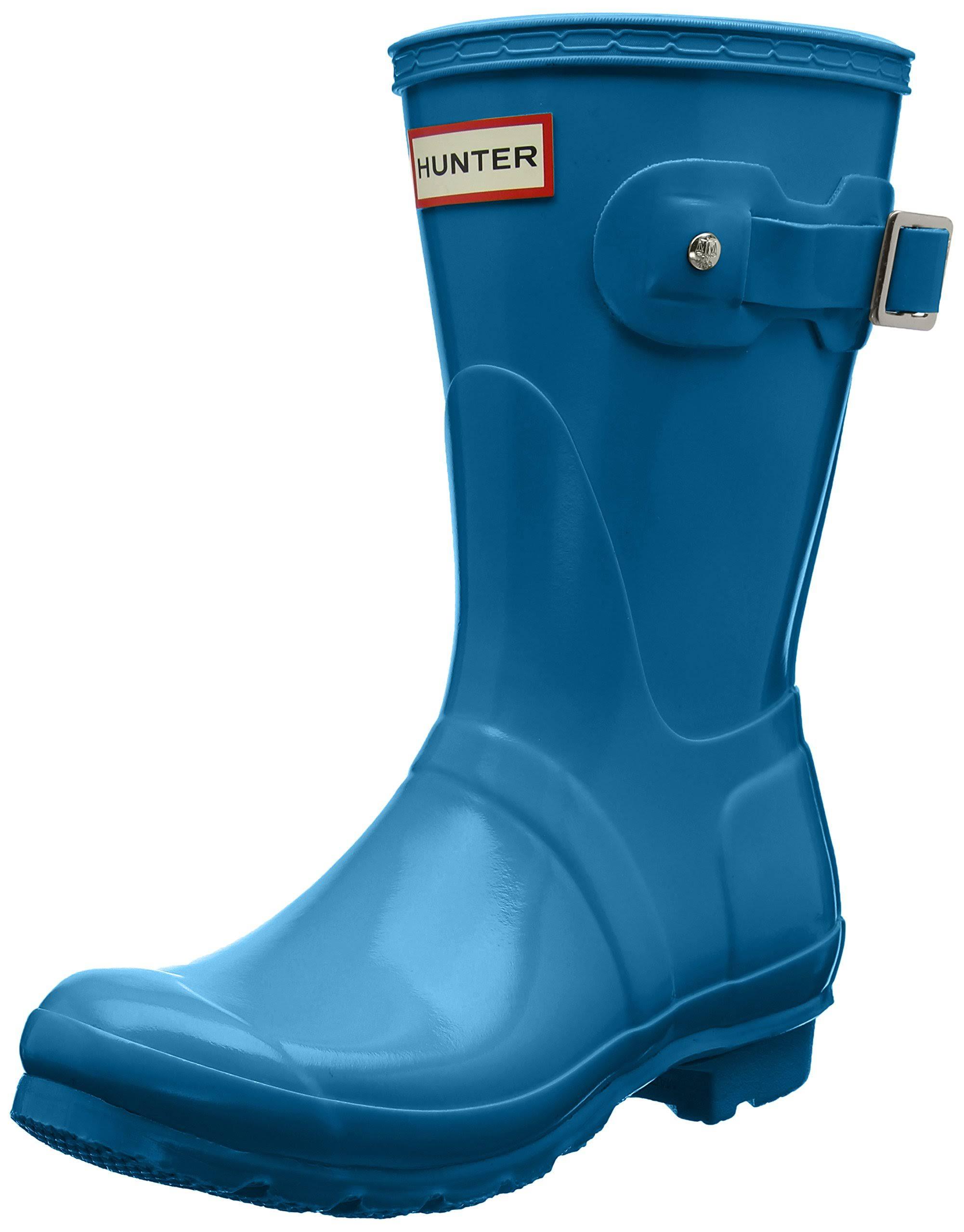 M Hunter pioggia 6 Gloss Short Blue Ocean Scarpone donna Taglia Original da da TclJ3uKF1