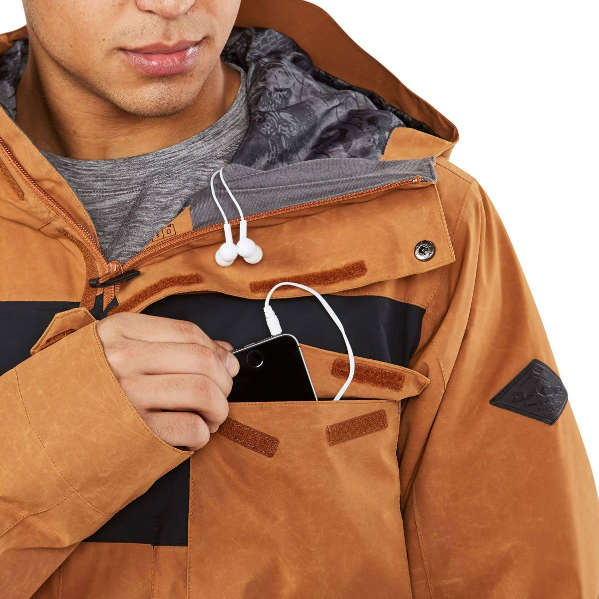 Field Camo Jacket Black Elsman Dakine M tamaño Fennel Medio pwRI7xq