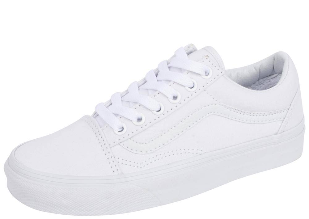 Mens 6 5 Vans Old True White Skool 4 Womens wI8SIH