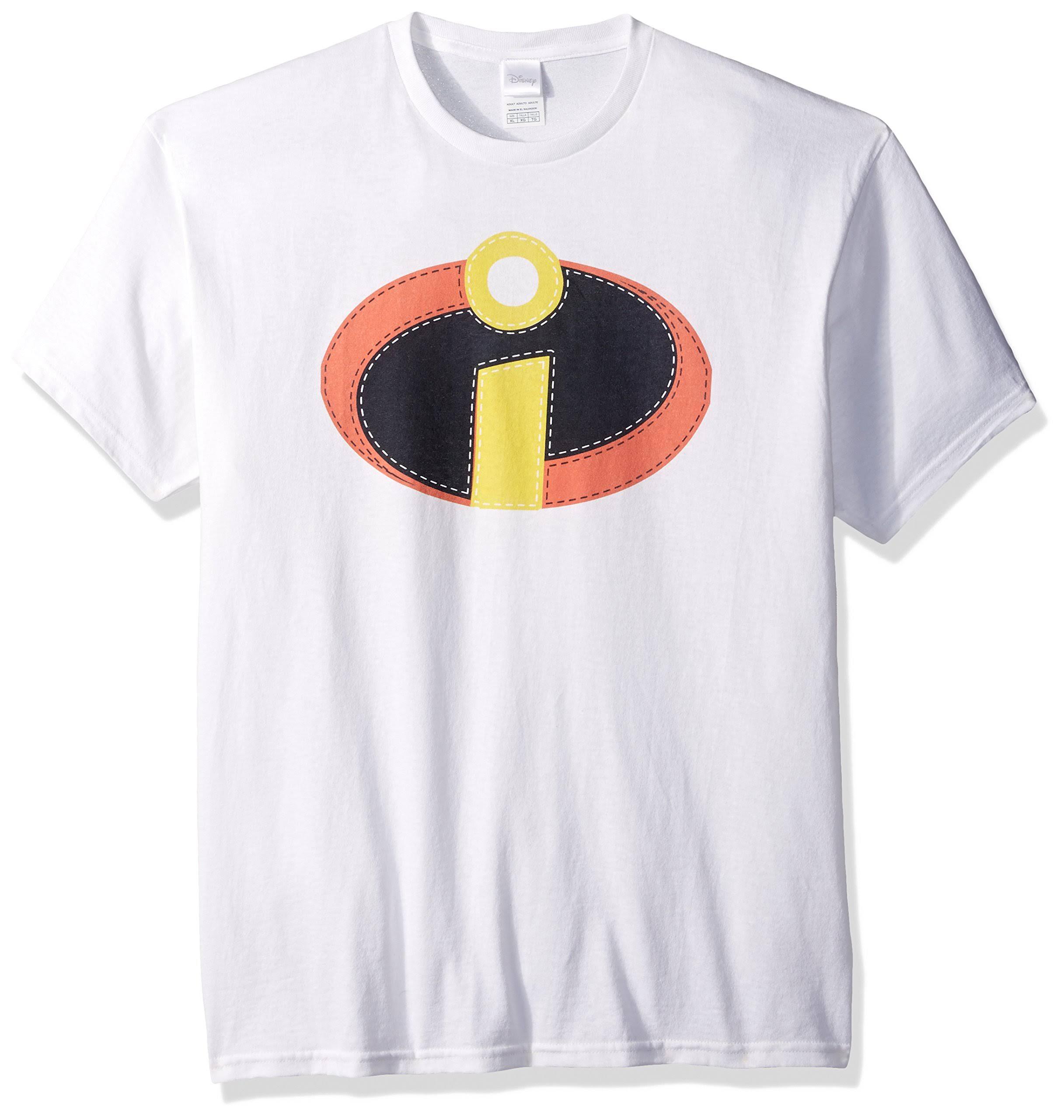 Incredibles Camiseta The Disney Blanca Hombre De Para Disfraz wBqvx1F