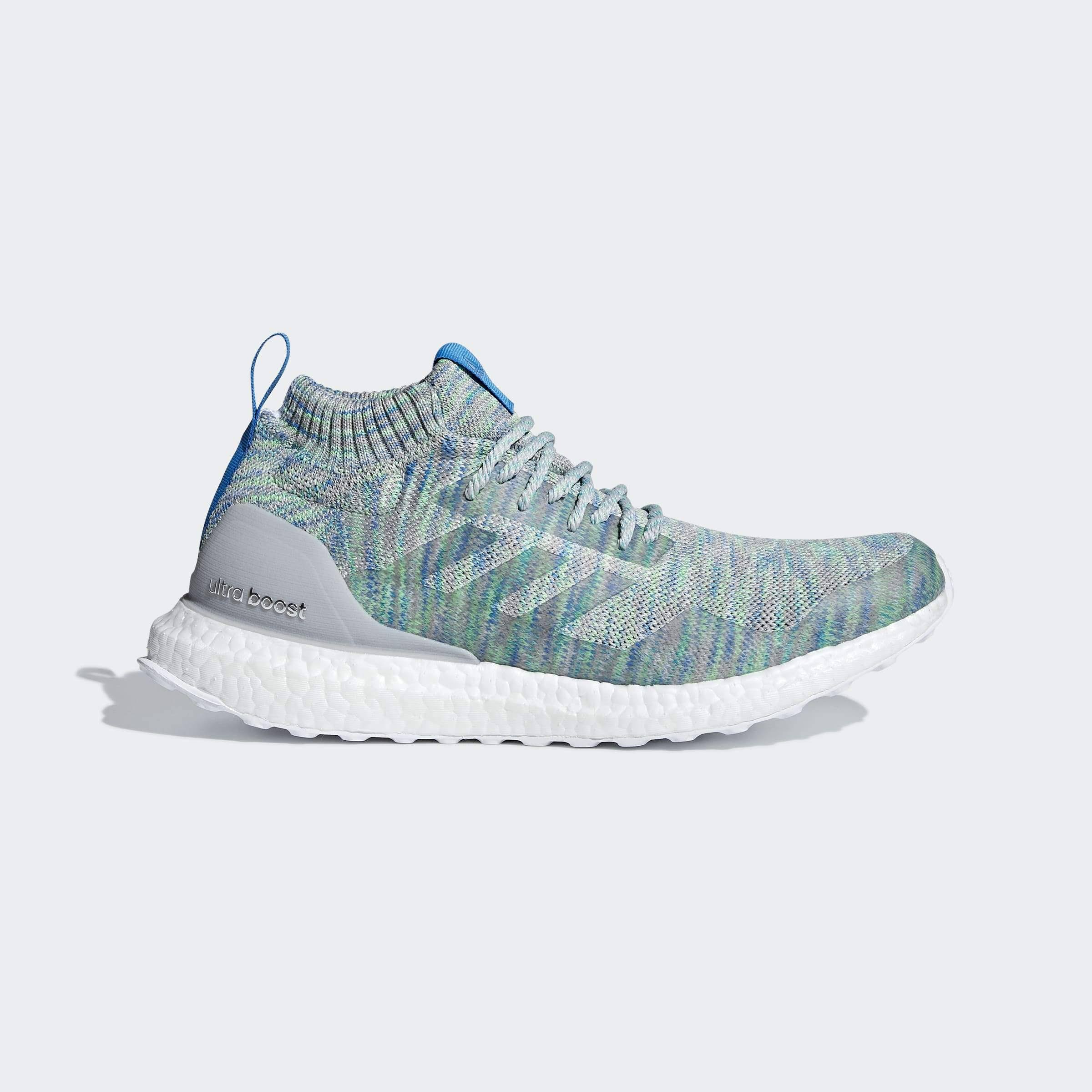 Adidas Ultra Boost Mid Multi-Color Grey - G26844 - Shoes 9