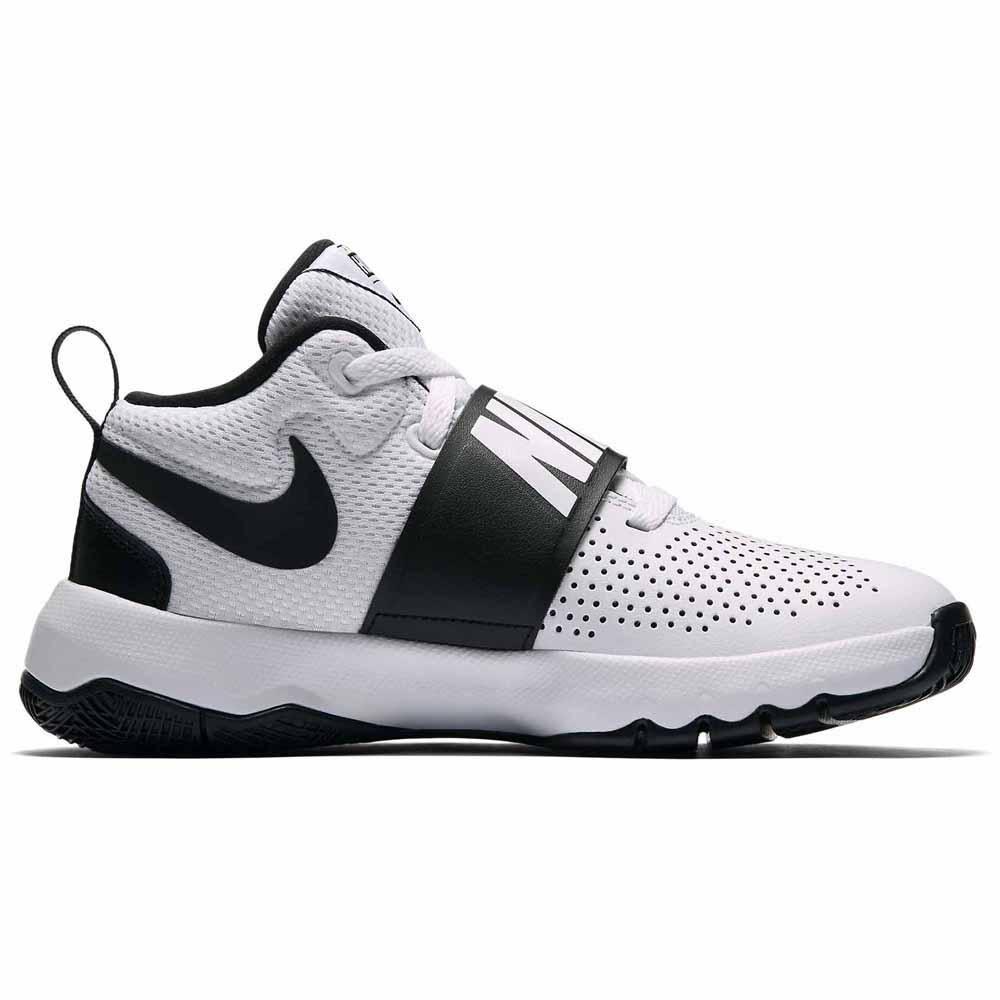 Gs 100 Moda Team 881941 8 D Nike Zapatos Hustle Blancos Joven De qgUwRfIxF