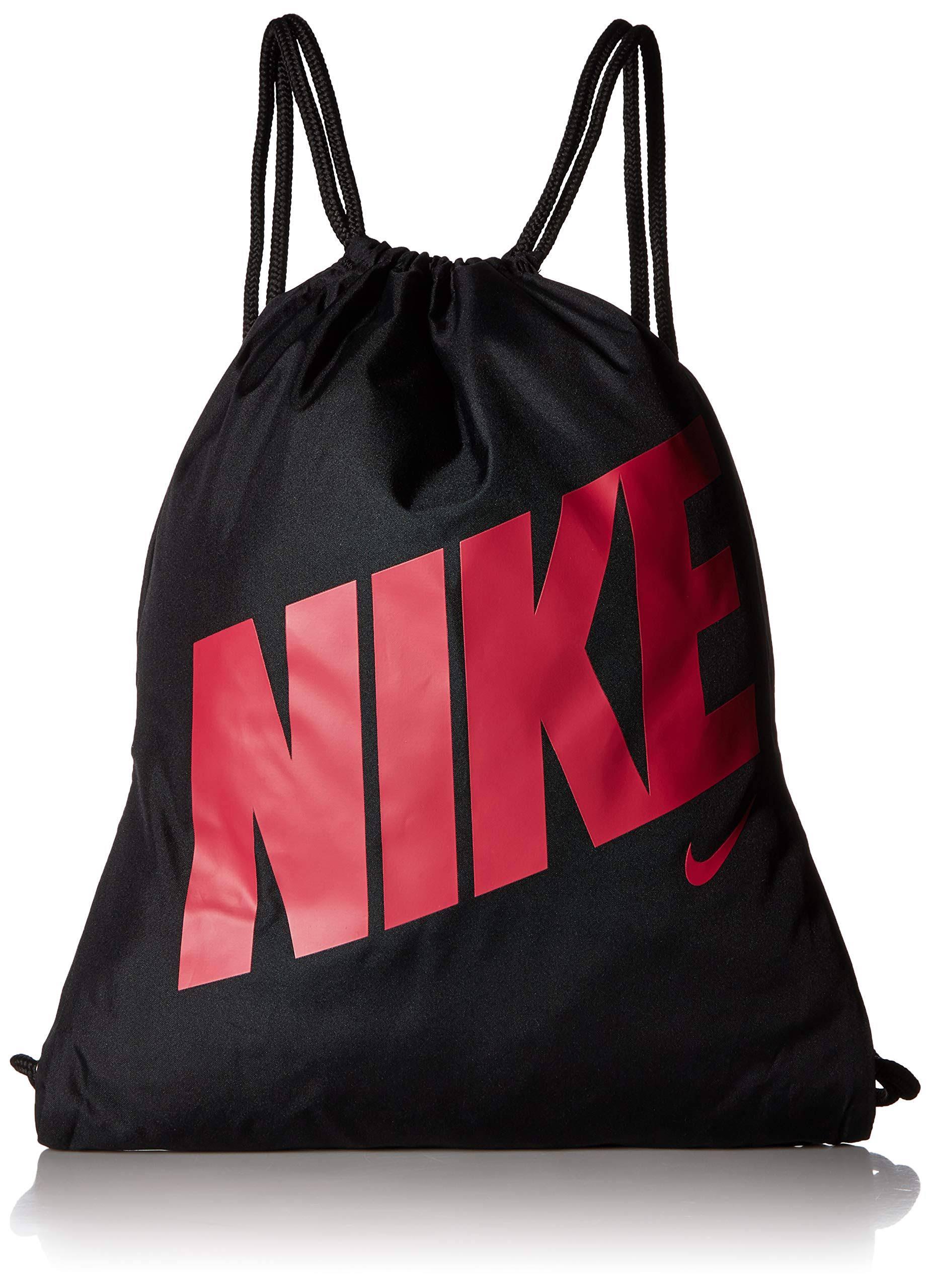 Nike Black & Pink Kids Graphic Gym Sack