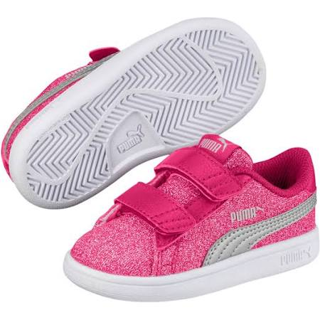 Smash V2 girls Glam Sneaker Glitz Puma Velcro Baby 6tgqEqw