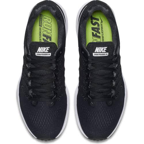 33 Zoom Air Pegasus Black Women Nike Shoes Running wSqtHXZ