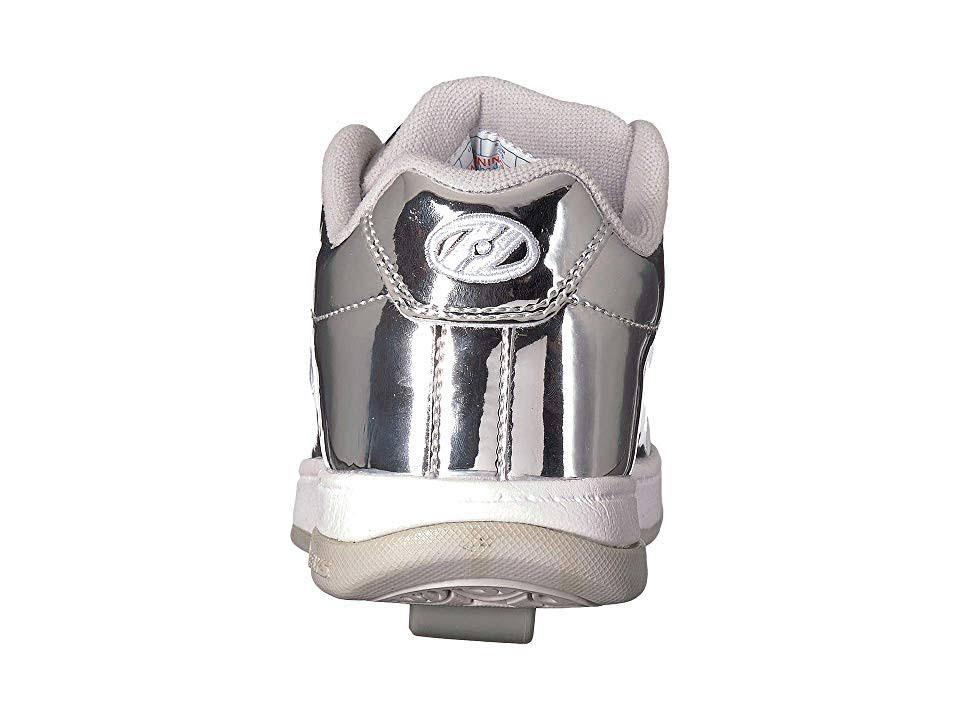 Heelys Deporte Tamaño Zapatillas De Plateado 3 Cromo Unisex Split wEaa4vxP6