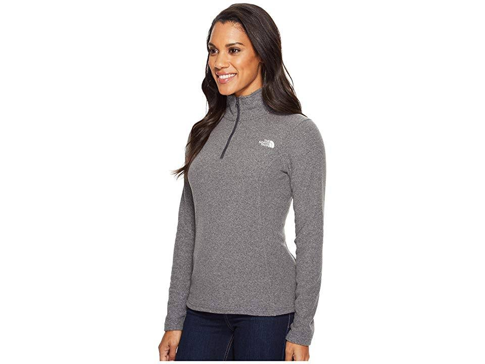 Zip Tnf Heather 4 Gris S Oscuro Glacier North Face Women's The 1 cW14aqnO
