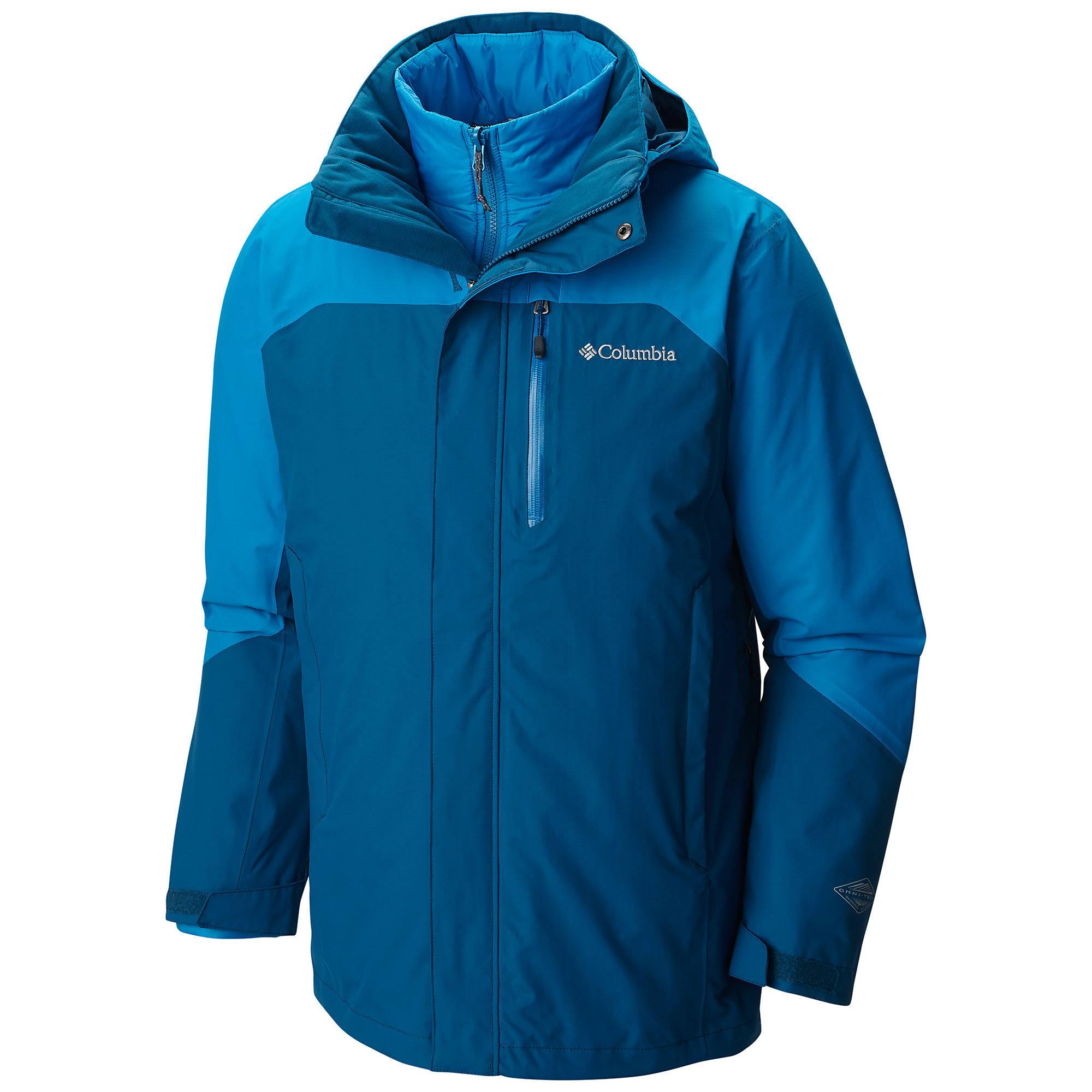 Größe Für Herren Small Blau Lhotse Ii Jacket Interchange Columbia qIFwxYva7n
