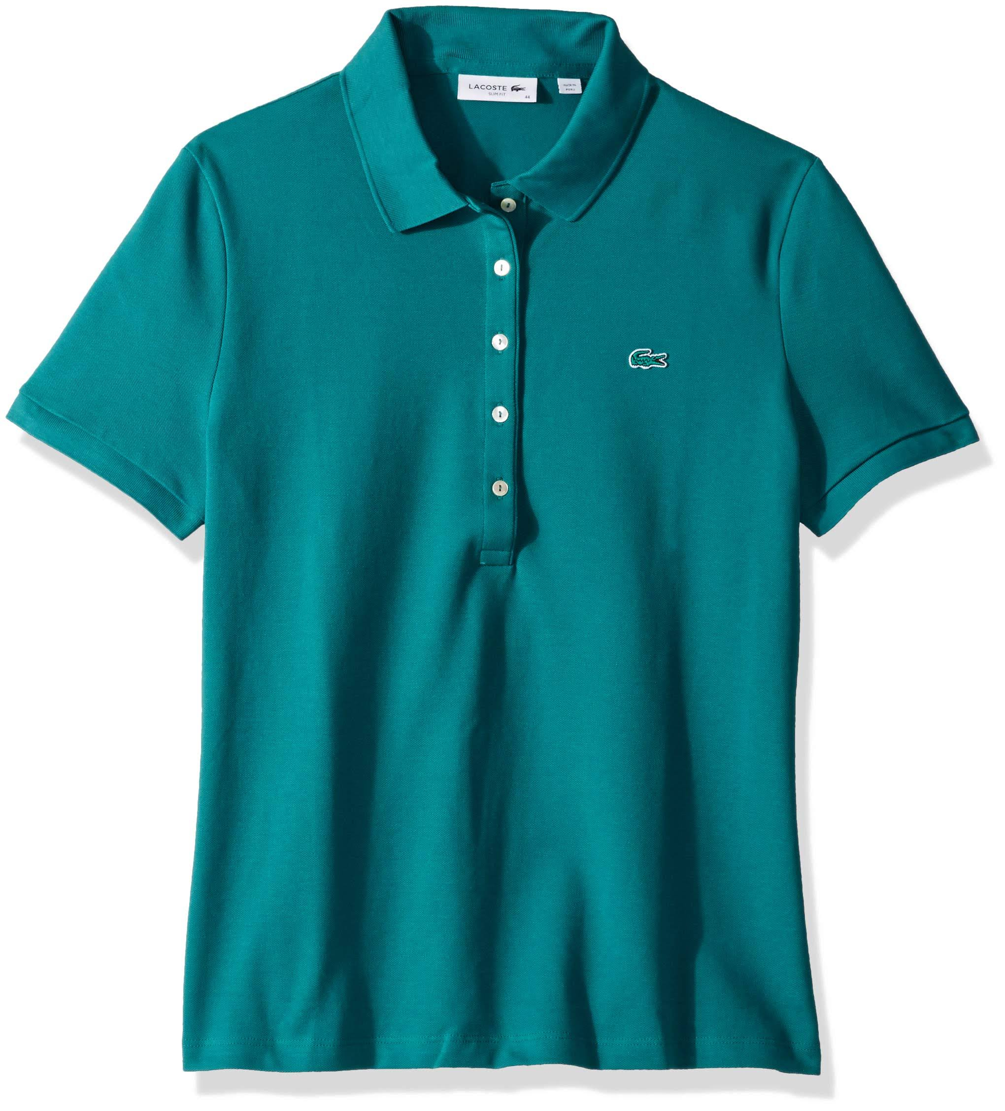 Mini Verde Cotton Lacoste Slim Stretch Polo Piqué Fit tzxwZqA
