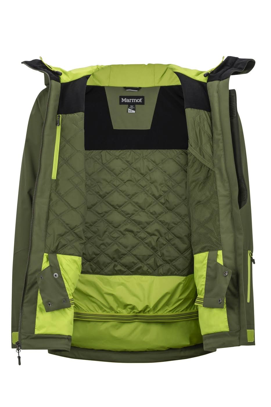 Hombre Marmot Colofonia m 74720 Androo Jacket 4920 Verde Bomber M ftwHqt